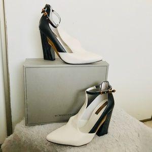 NEW w/ box! BCBG Max Azria Colorblock heels sz 8.5